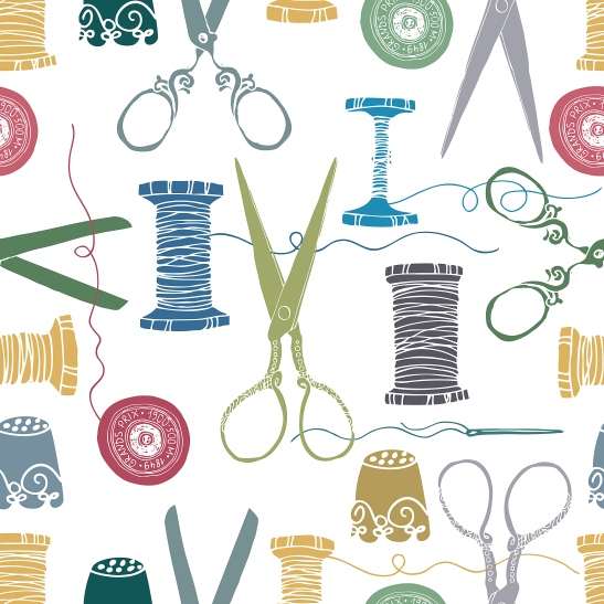 Sewing color background