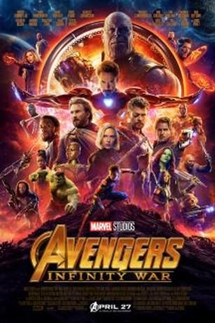 Avengers Infinity War poster image
