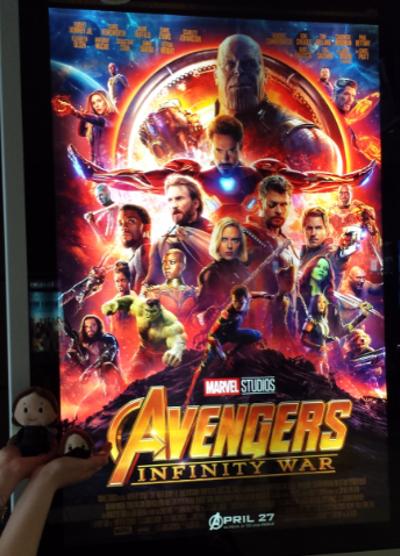 Avengers Infinity War Bucky poster