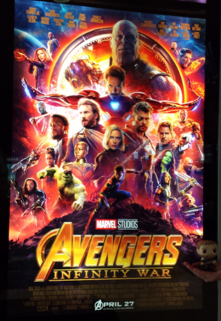 Avengers Infinity War Thor poster