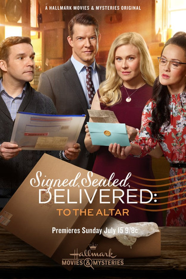 Signed Sealed Delivered To the Altar poster