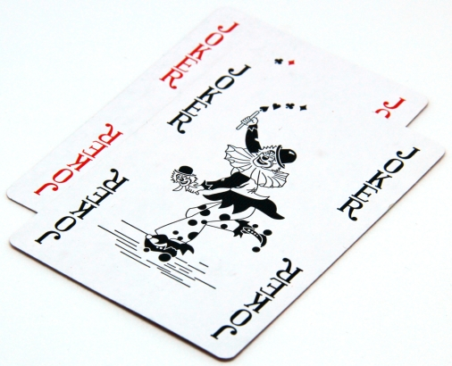 2 joker cards