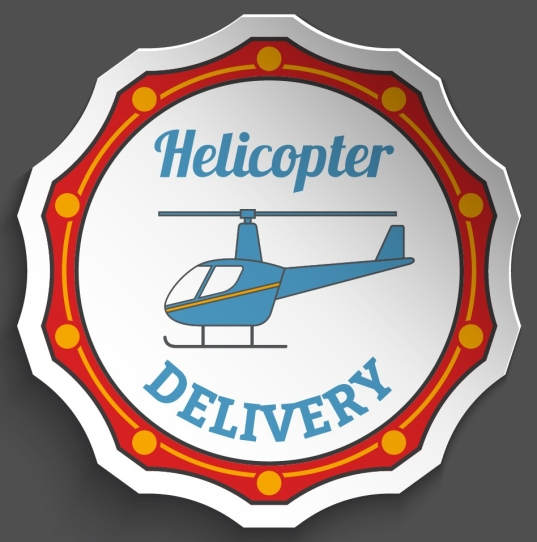Delivery Stickers Set