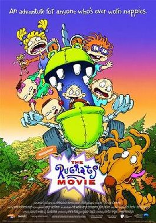 Rugrats movie poster