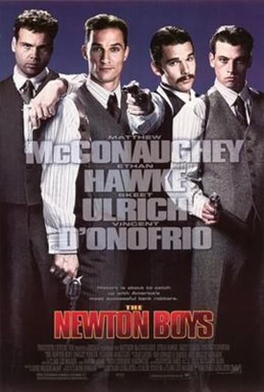 The Newton Boys poster