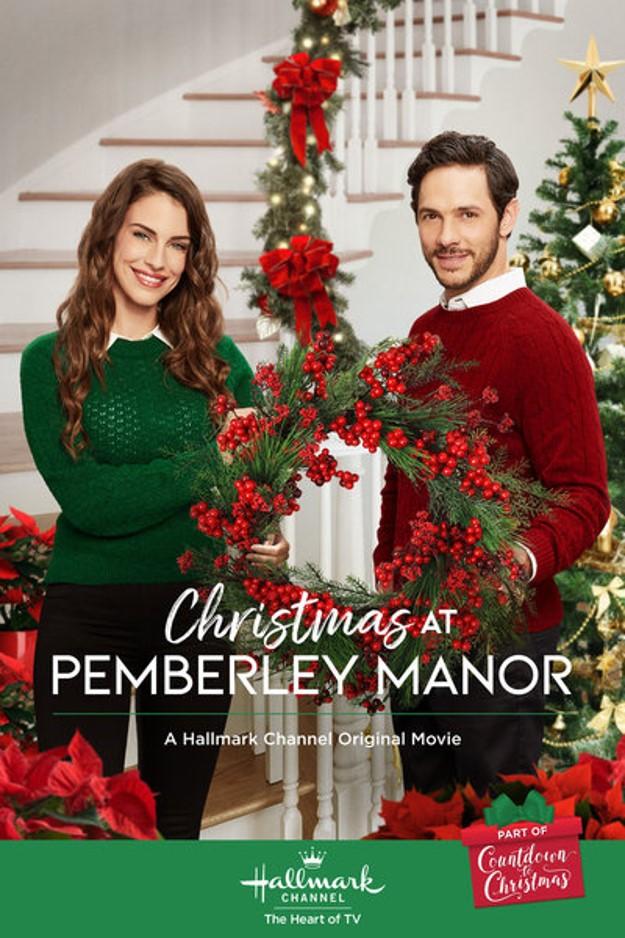 Christmas at Pemberley Manor poster