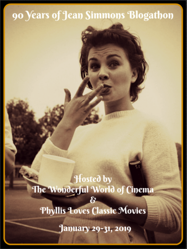 90 Years of Jean Simmons blogathon banner