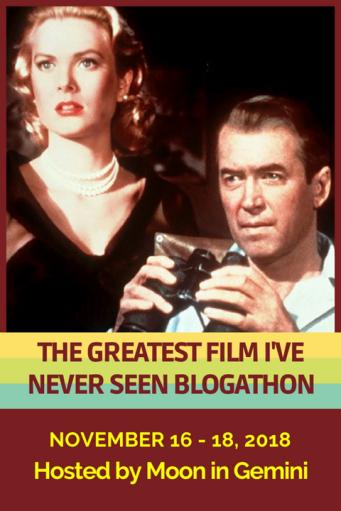 Greatest Film I've Never Seen blogathon banner