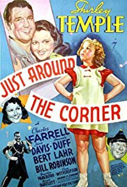 just around the corner poster