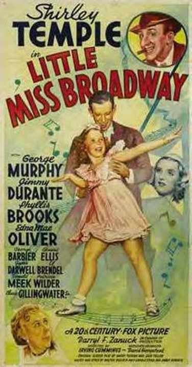 little miss broadway poster