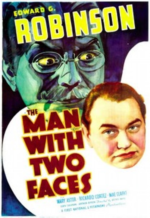 The Man with Two Faces poster