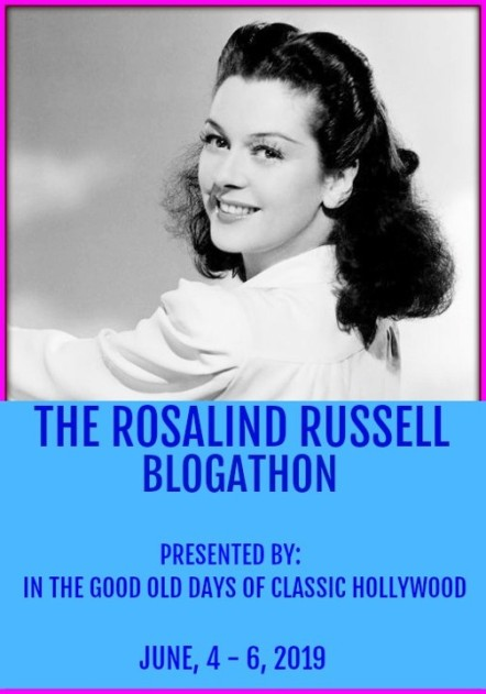 The Rosalind Russell Blogathon banner
