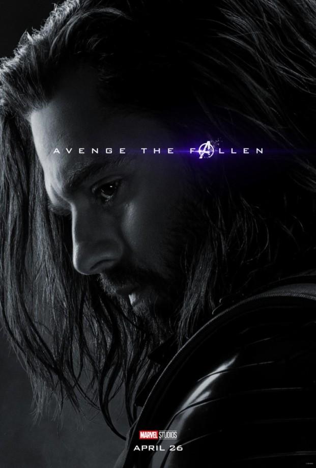 Avengers Endgame Bucky poster