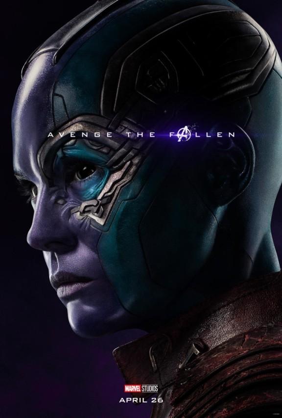 Avengers Endgame Nebula poster