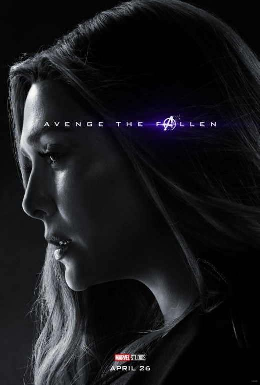 Avengers Endgame Scarlet Witch poster
