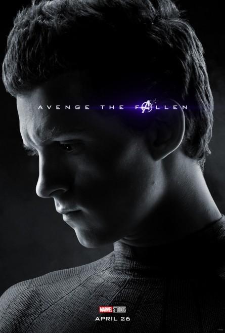 Avengers Endgame Spider Man poster