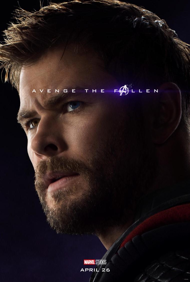 Avengers Endgame Thor poster