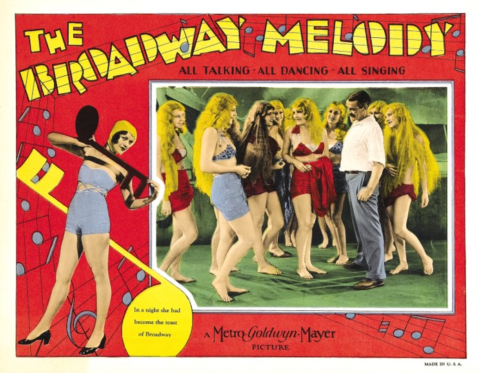 The Broadway Melody poster card