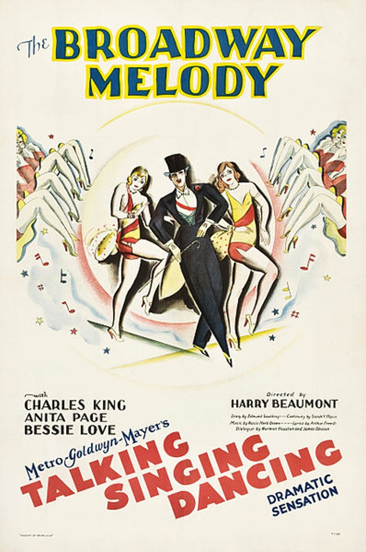 The Broadway Melody poster