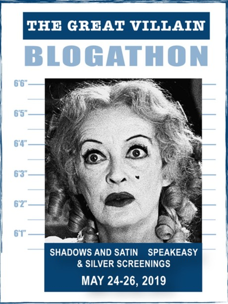The Great Villain Blogathon banner