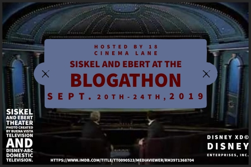 Siskel and Ebert Movie Theater banner