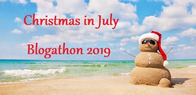 Christmas in July Blogathon 2019 banner