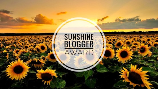 Sunshine Blogger Award banner