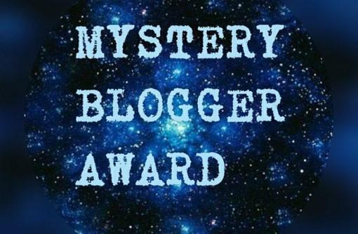 Mystery Blogger Award banner