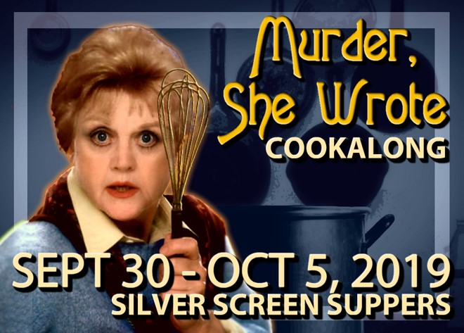 Murder She Wrote Cookalong banner