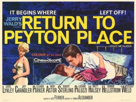 Return to Peyton Place poster