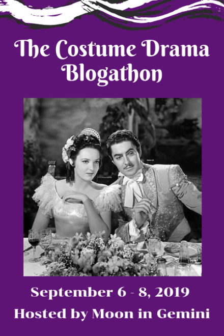 The Costume Drama Blogathon banner