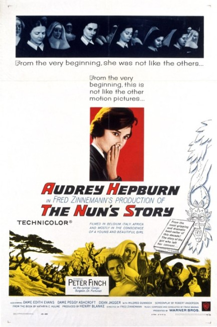 The Nun's Story poster