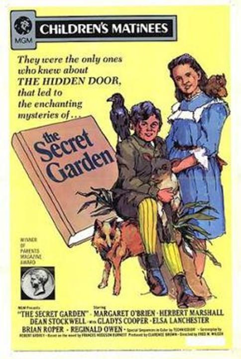 The Secret Garden 1949 poster