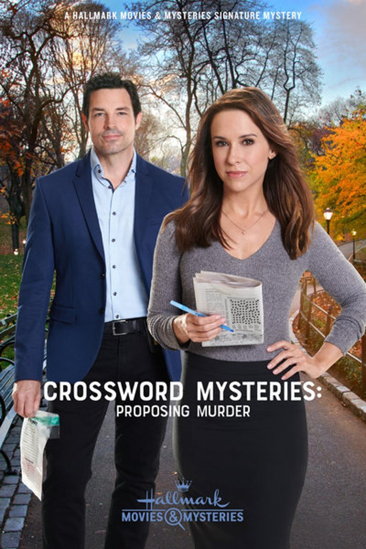 Crossword Mysteries Proposing Murder poster