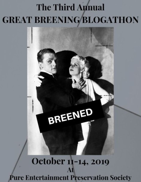 Third Annual Great Breening Blogathon banner