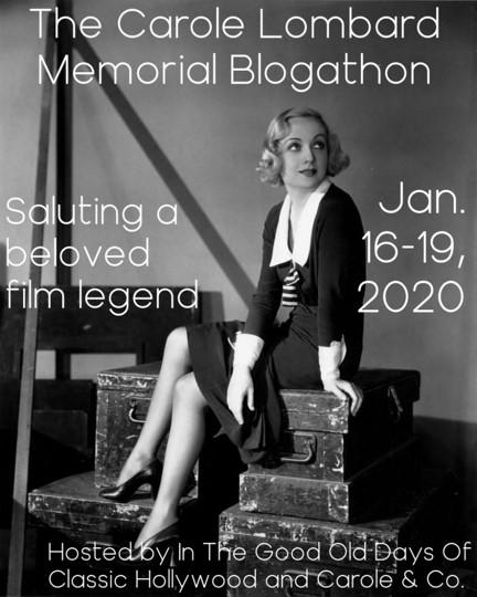 Carole Lombard Blogathon banner