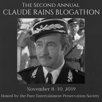 Claude Rains Blogathon banner