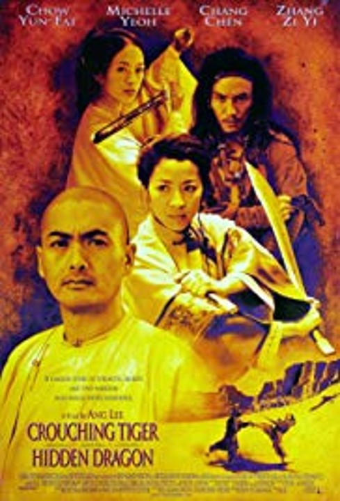 Crouching Tiger, Hidden Dragon poster