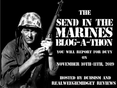 Send in the Marines Blogathon banner