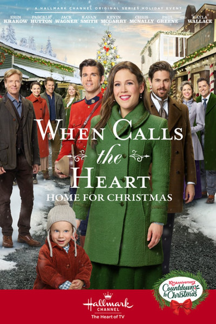 When Calls the Heart -- Home for Christmas poster