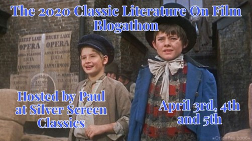 Classic Literature On Film Blogathon banner