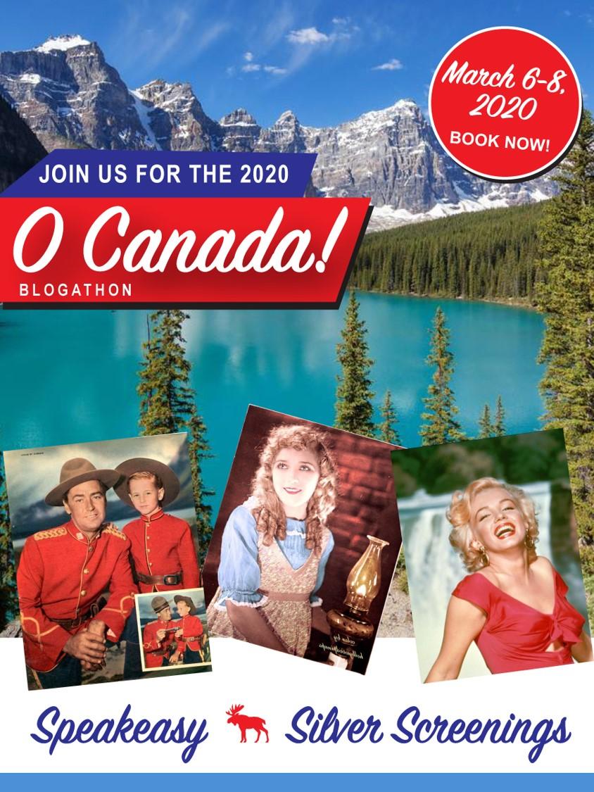 O Canada Blogathon banner
