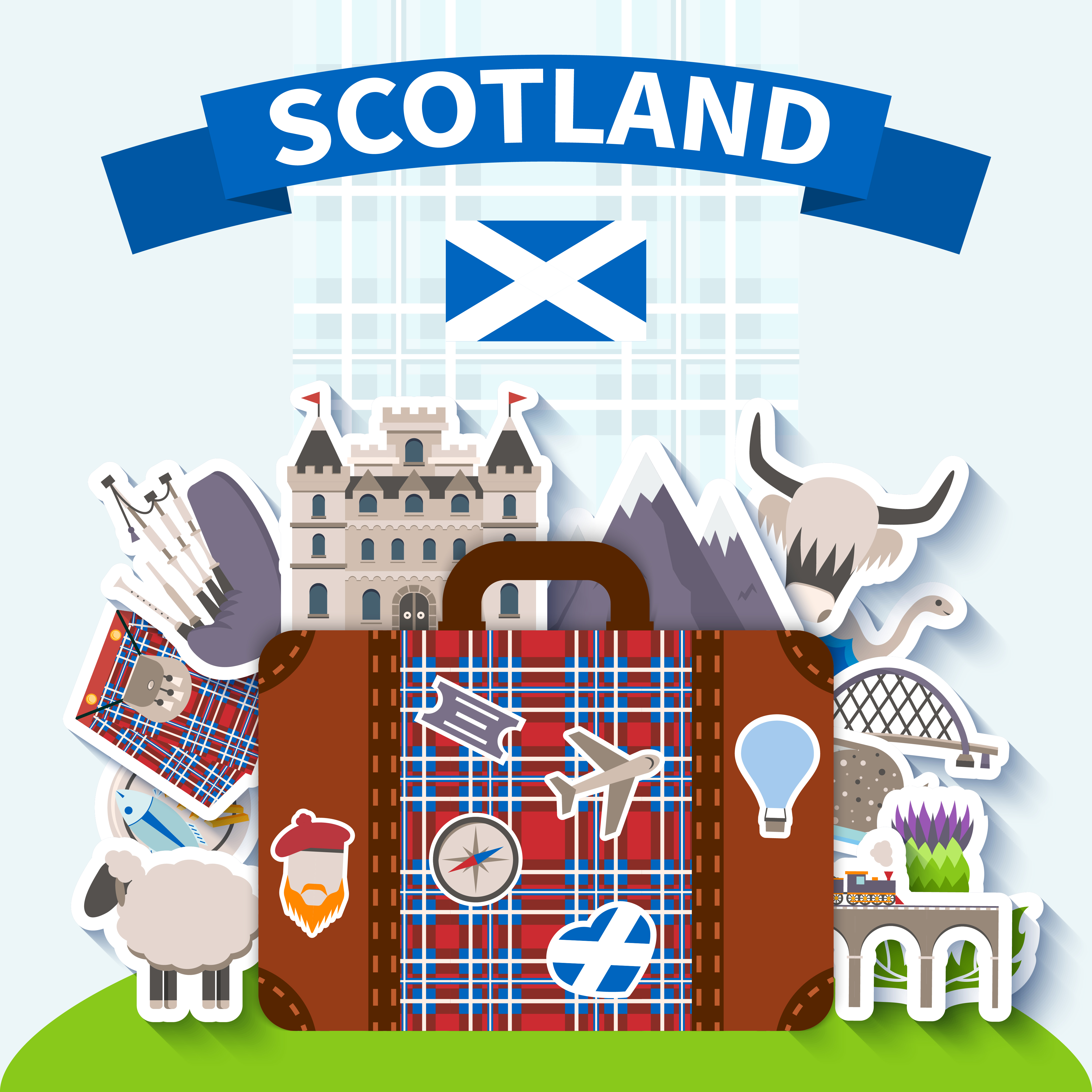 Scotland Travel Background