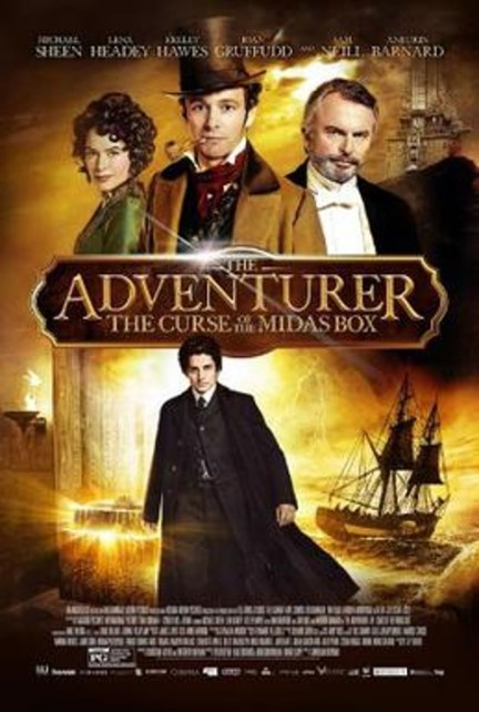 The Adventurer -- The Curse of the Midas Box poster