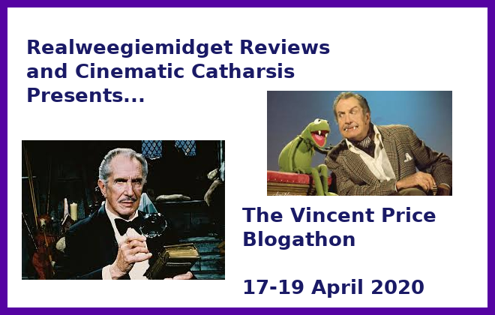 Vincent Price Blogathon banner